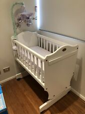 Boori cradle and change table
