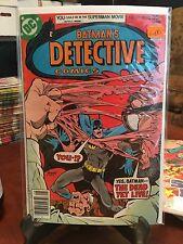 DC Detective Comics Batman 470 1st appearance of Modern Hugo Strange