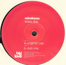 MIRABEAU - Laiton Disque N ° 1 - BIG LOVE