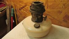 Antique Aladdin Alacite Model B Bracket Lamp Font