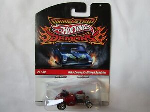 Hot Wheels Drag Strip Demons Mike Zarnocks Altered Roadster Dragster Hot Rod #22