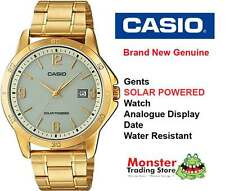 AUSTRALIAN SELLER CASIO MTP-VS02G-9ADF SOLAR POWERED WITH DATE 12 MONTH WARRANTY