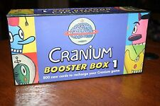 Cranium Booster Box 1 - 800 New Cards to Recharge Your Cranium Game - Party Fun!