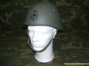 Casco Ejército Italiano M33 Vam -vintage Años 70