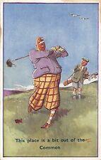 POSTCARD   COMIC     GOLF    Related  This place is a bit out of the  Common
