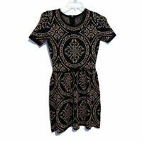 Romeo + Juliet Short Sleeve Stretch Sweater Dress