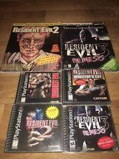 Resident Evil Set (Sony PlayStation 1, PS1) Resident Evil 1, Directors Cut, 2, 3