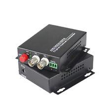 2CH Video Fiber Optical Media Converter Composite Analog Transmitter Receiver
