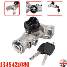 1348421080 Ignition Lock Barrel Switch & Keys 5 Pins For Fiat Ducato Boxer Relay