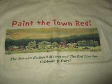 Paint the Town Red! The Norman Rockwell Museum Red Lion Inn 30 Yrs (Xl) T-Shirt