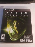 Alien: Isolation Nostromo Edition (Sony PlayStation 3, 2014) Ps3 Video game.