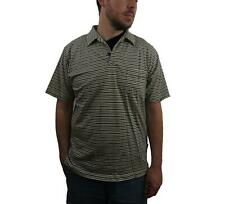 PATAGONIA Mens Squeaky Clean Polo Shirt Size Medium Striped Organic Cotton S/S