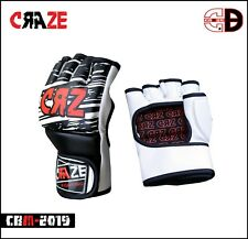 CRAZE Grappling Training MMA Gloves Sparring UFC Punching Cage Fighting Glove