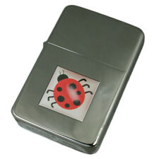 Engraved Lighter Book Ladybird Insect