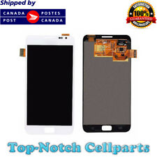 White LCD Touch Screen Digitizer Display for Samsung Galaxy Note i717 T879 N7000