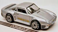 Matchbox Porsche 959 Sports Car Silver World Class w/Rubber Tires 1:57 Scale