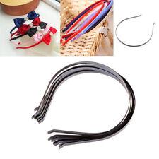 10Pcs 5mm Blank Plain Metal Headband Hair Band For Hair Accessories DIY Crafts