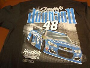 NASCAR Jimmie Johnson #48  Lowes Racing Hendrick Motorsports T-Shirt XL  New  Y5