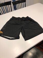 Game Worn Team Used Iowa Hawkeyes Basketball Shorts Nike Medium