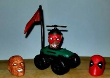 Marvel Legends Lot Of Deadpool Heads And Accessories - Great For Customs