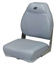 Wise Seating High Back Boat Seat- Gray