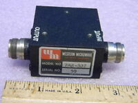 Western Microwave 2AS307 SMA RF Isolator 2.5 to 3.0GHz