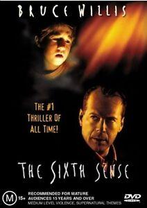 Sixth Sense DVD Bruce Willis - Haley Joel Osment - REGION 4 AUSTRALIA