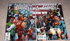 JUSTICE LEAGUE OF AMERICA  BOTH COVERS #!