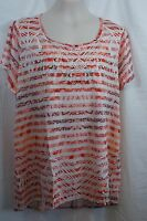 1X STYLE & CO WOMAN Women's Polyester/Rayon Knit Top Shirt Blouse NWT! $56