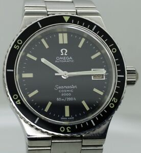 Outstanding Omega Seamaster Cosmic Diver's 2000 - Ref: 166.0137 Automatic Watch