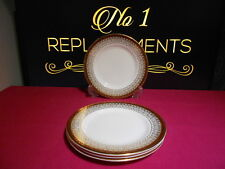 4 x Royal Grafton Red Majestic Tea / Side Plates 15.5 cm 2 Sets Available
