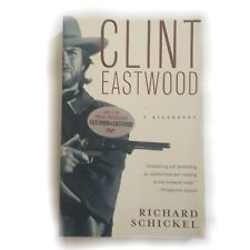 OOP Clint Eastwood Biography 1st Vintage Ed Schickel TNT Pictures Like New SC Bk