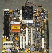 ALTON 598 P-1 100MHz Motherboard MB598VGA with AMD K6-2 550MHz CPU/32Mb RAM/FAN