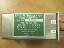 Crystal Oscillator Microwave RF 10.000 MHz OCXO  TESTED