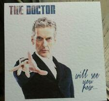 Handmade Doctor Who 12th Doctor Card. Just because. Birthday Congratulations etc