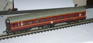 Tri-ang TT Main Line Composite coach extended to scale length