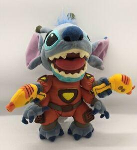 Disney Store Exclusive Lilo and Stitch Alien Escape Orange Spacesuit Bean Plush