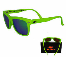OCCHIALI DA SOLE NO LIMITS UNISEX UOMO DONNA ART. WipeOut_lightgreen VERDE FLUO