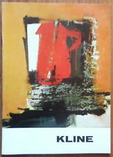 Franz Kline - Stedelijk museum - 1963