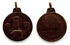 """Medaglia Raduno Divisione """"Alpi Graie"""" Ivrea 1949 Bronzo, Diametro cm 3,1"""