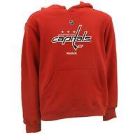 Washington Capitals Kids Youth Size Hooded Sweatshirt Reebok Official NHL New