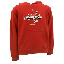 Washington Capitals Kids Youth Size Hooded Sweatshirt Reebok Official NHL  New 46b0a28cd