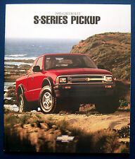 Prospekt brochure 1995 Chevrolet Chevy S-Series Pickup (USA)