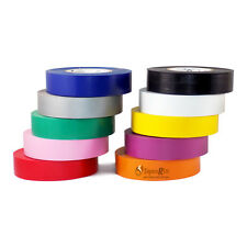 "TapesSupply FREE SHIPPING 10 Rolls Rainbow Electrical Tape 3/4"" x 66 ft"