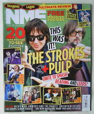 RARE STROKES / JULIAN CASABLANCAS / PULP, NME Magazine 3 September 2011 NEW