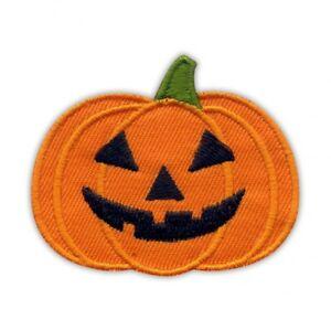 Halloween Pumpkin Embroidered PATCH/BADGE