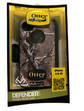 Otter Box Defender Realtree Camouflage Iphone 4 4S Cell Phone Case Brand New 744