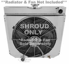 "20"" Core Ford Monster Cooling Aluminum Radiator Shroud, #339-16 3/8""H x 20 1/4""W"