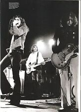 LED ZEPPELIN on stage in openhagen 1973  magazine PHOTO / mini Poster 11x8 inch