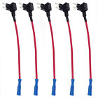 5 x Add A Circuit Standard ATM Mini Low Profile Blade Style Fuse Holder Tap